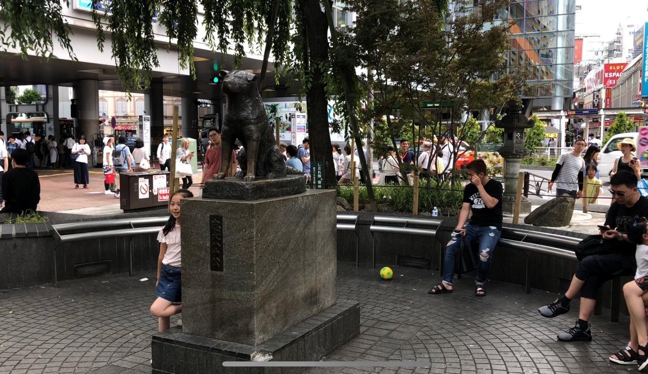 Hachiko Heykeli, Shibuya