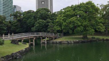 Hamarikyu Bahçesi ve Japon Çay Evi